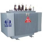 Máy biến áp 3 pha ngâm dầu HEM 250kVA-35/0.4kV